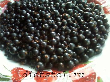 черная смородина на зиму рецепт