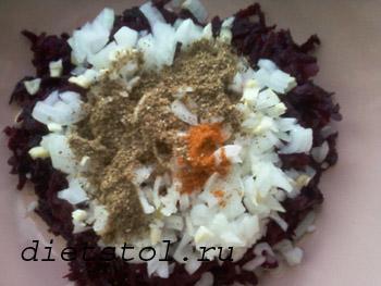 салат из сырой свеклы
