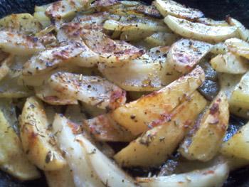 картофель запеченный в духовке фото
