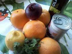 ингредиенты для апельсинового салата фото