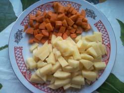 овощи для куриного супа фото