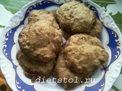 тыквенное печенье фото