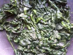 приготовление запеканки со шпинатом 2