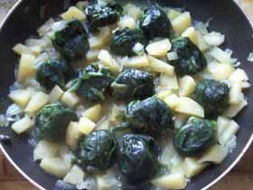 готовим суп из шпината