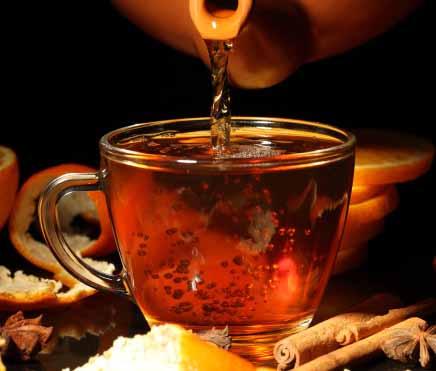 пряный чай с корицей