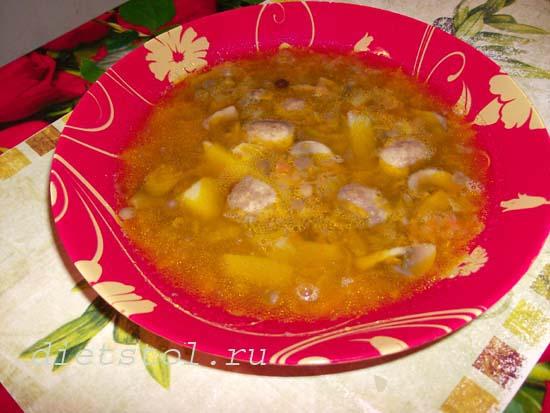 постный суп из чечевицы с грибами фото рецепт