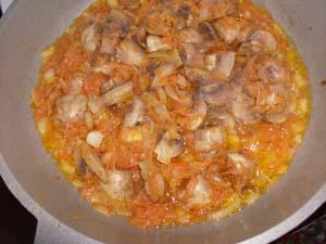 приготовление супа из чечевицы с грибами
