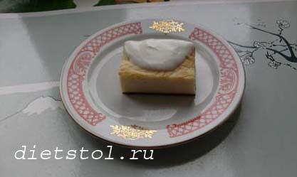 творожная запеканка со сгущенкой фото