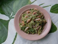 авокадо с креветками
