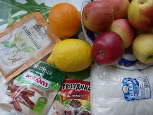 продукты для яблочного джема фото