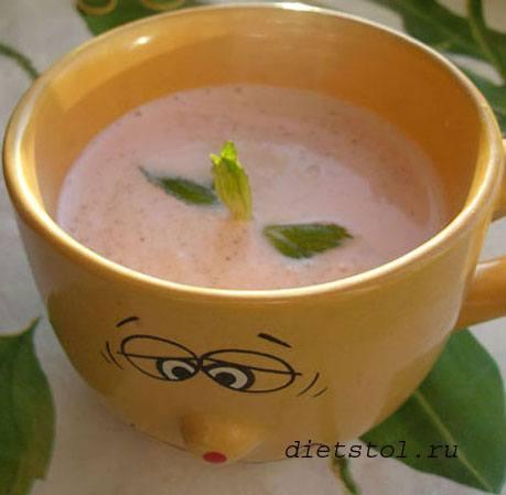 клубничный суп фото