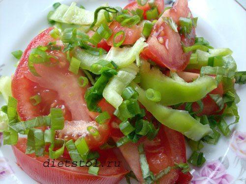 низкокалорийные салаты рецепты фото
