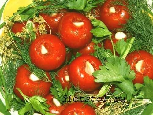 соленые помидоры домашние фото