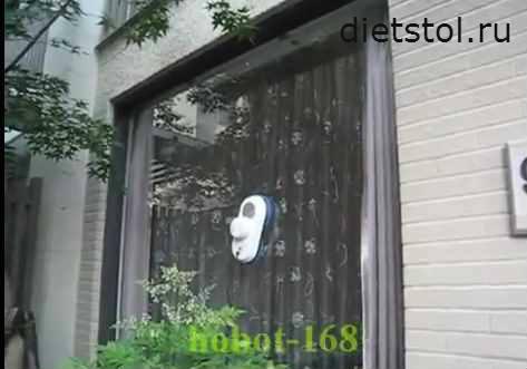робот мойщик hobot 168 фото