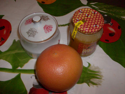 готовим десерты из грейпфрута