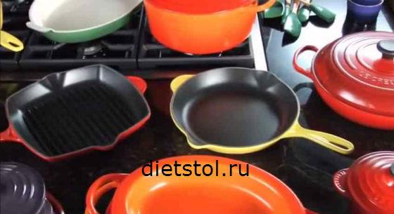 покрытия сковородок и другой кухонной посуды фото