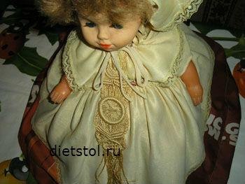 закрываем отвар куклой грелкой фото