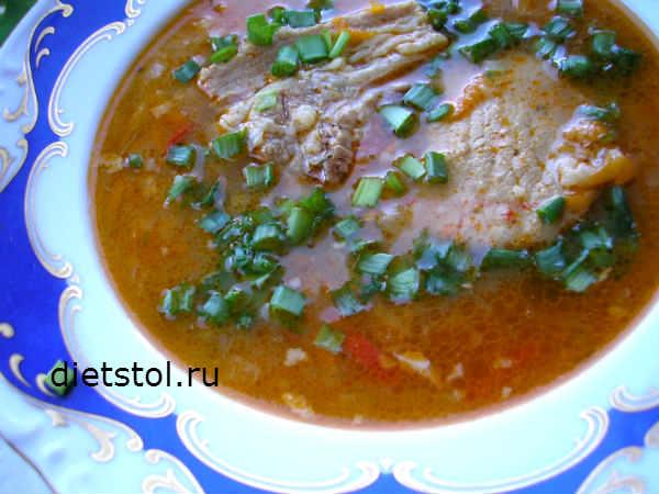 вкусный суп из свинины, как приготовить