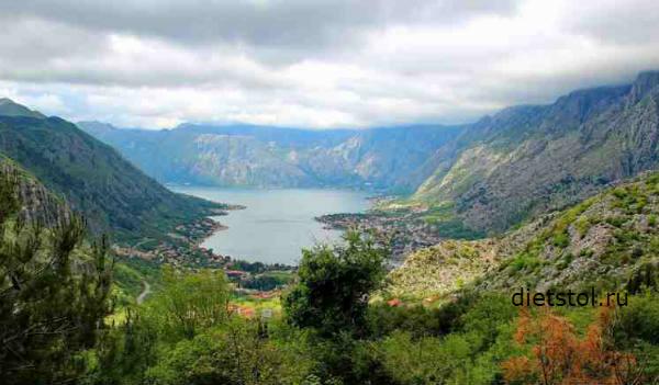 Черногория, Балканский залив фото