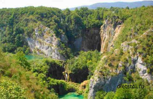 Плитвитские озера, Хорватия фото