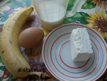 как приготовить омлет с творогом