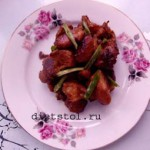 рецепт  красной свинины