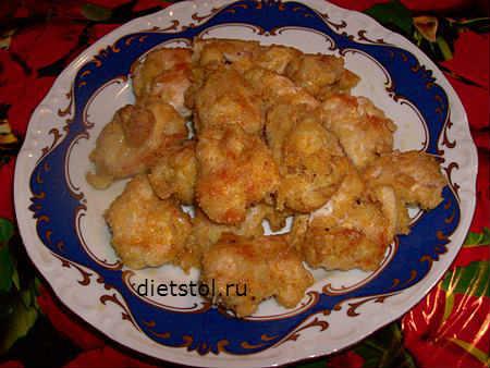 наггетсы из куриного филе - рецепт и фото