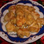 куриное филе в панировке -наггетсы - фото