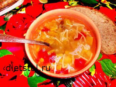 овощной суп с тыквой - рецепт и фото