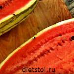 салат из свежего арбуза - рецепт и фото