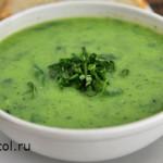 суп-пюре из кабачков - фото