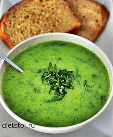 суп-пюре из кабачков со сливками - рецепт и фото