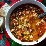 готовим яичный суп - рецепт и фото