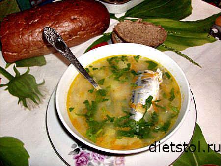 суп из скумбрии - рецепт и фото