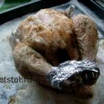 курица на соли рецепт и фото