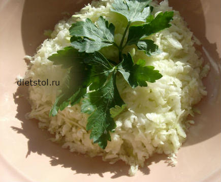 салат из кольраби - фото