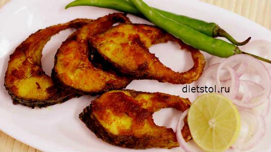 карп жареный на сковороде по-бенгальски рецепт с фото