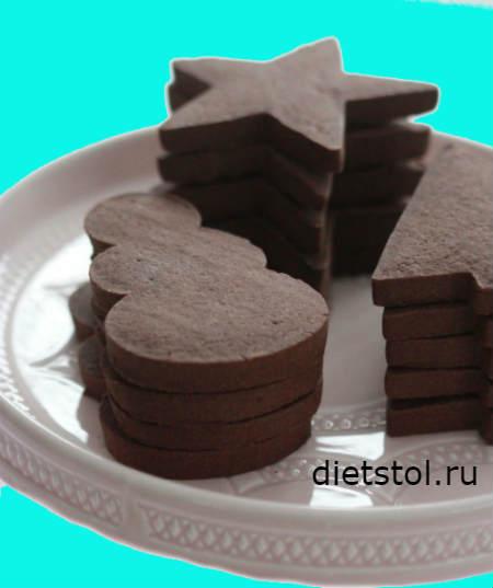 Рецепт третий: шоколадное песочное печенье