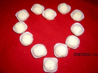 Рафаэлло - конфеты ко Дню святого Валентина
