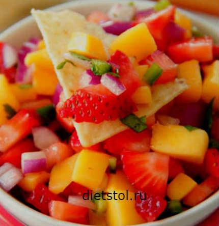 Рецепт: сальса из манго