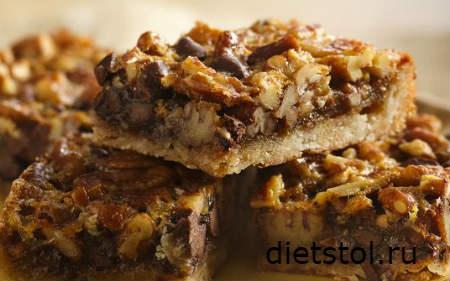 Пирог с орехами пекан рецепт и фото