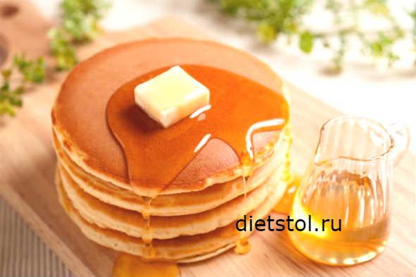 Панкейки на молоке - рецепт пошаговый с фото
