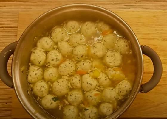 Суп с фрикадельками-6 вкусных рецептов