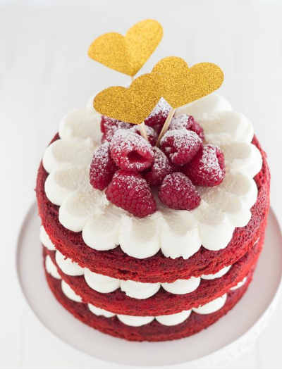 Американский торт Красный бархат, Red Velvet