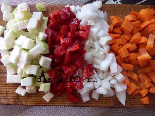 Киноа с овощами: фото к шагу 2