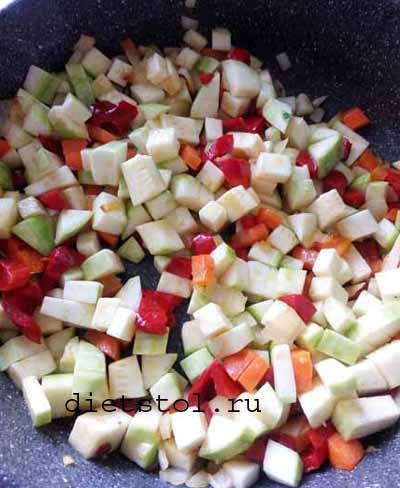 Киноа с овощами: фото к шагу 4