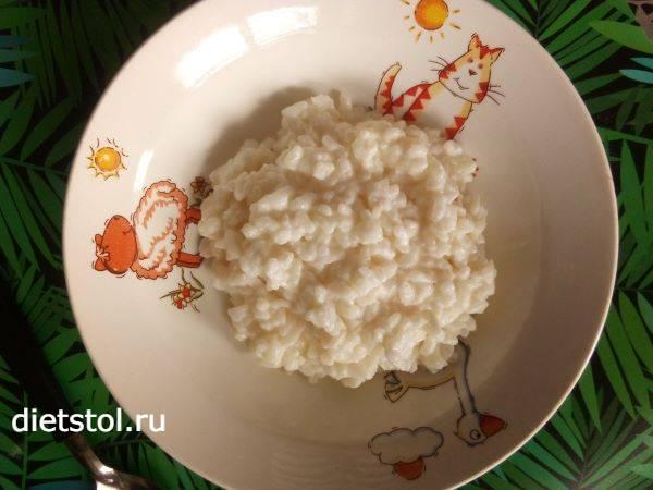 Каша рисовая молочная- фото шаг 4